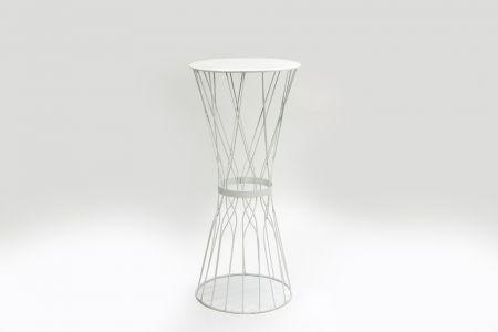 White Metal Poseur Table.jpg