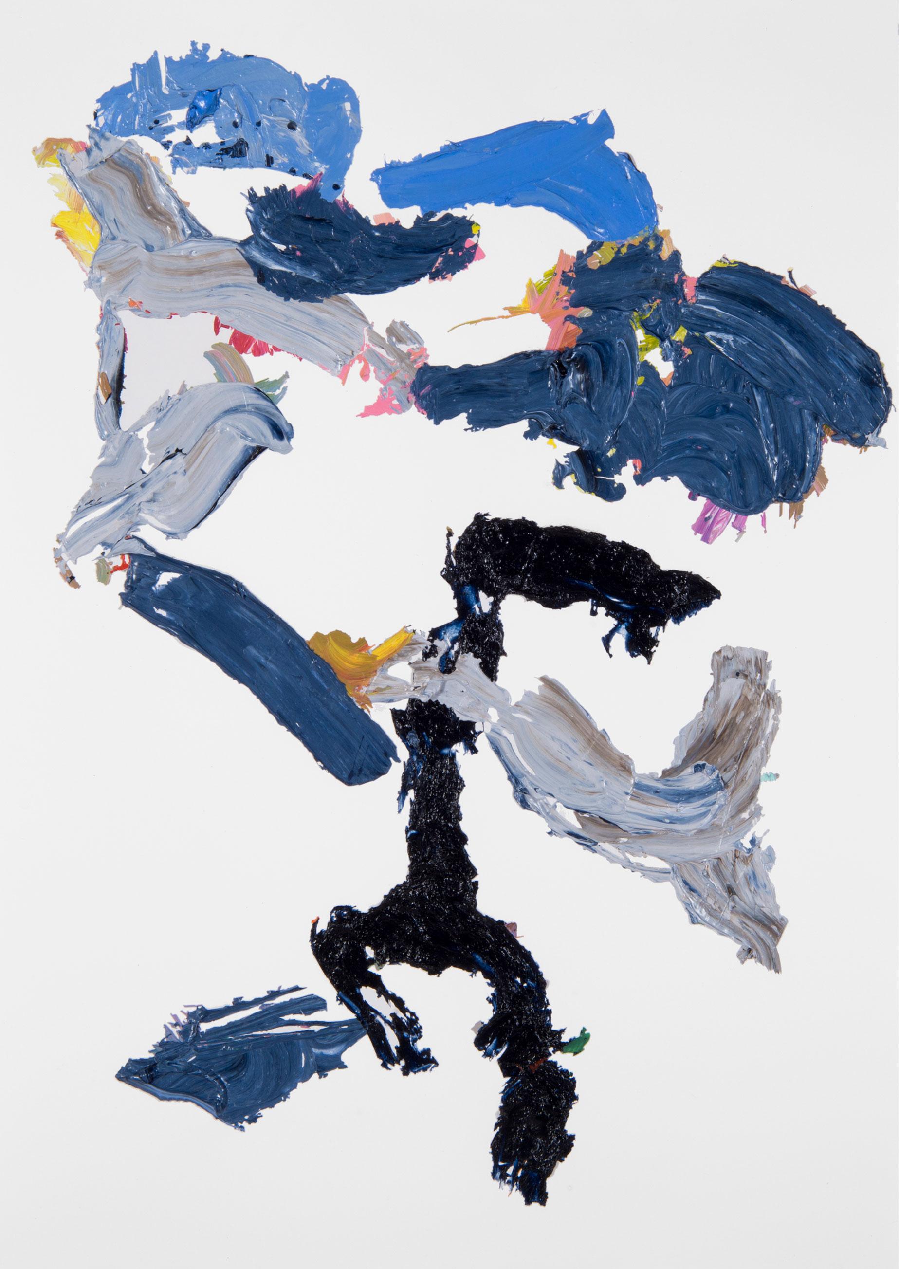 Blue/Black Rose 6