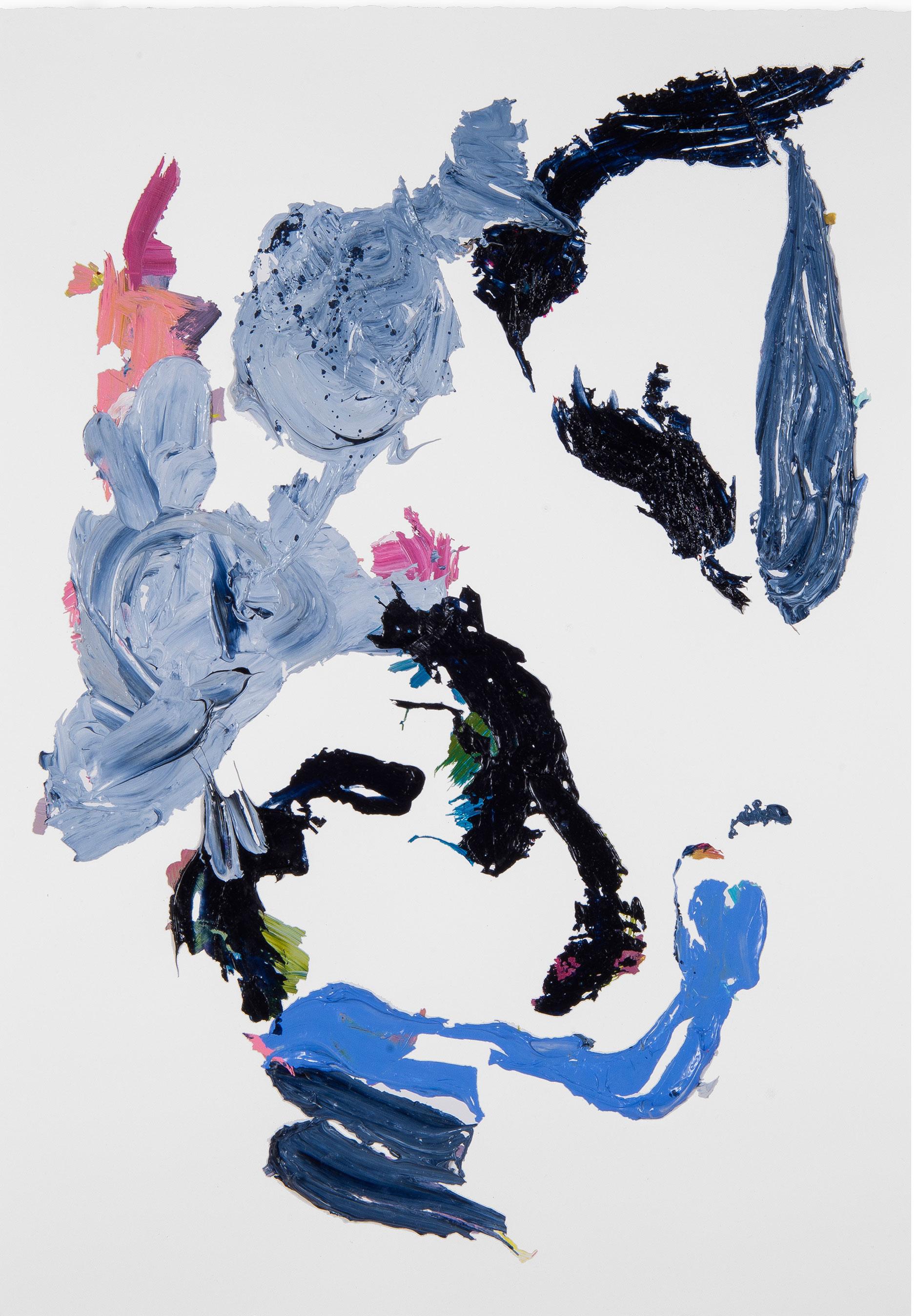 Blue/Black Rose 4