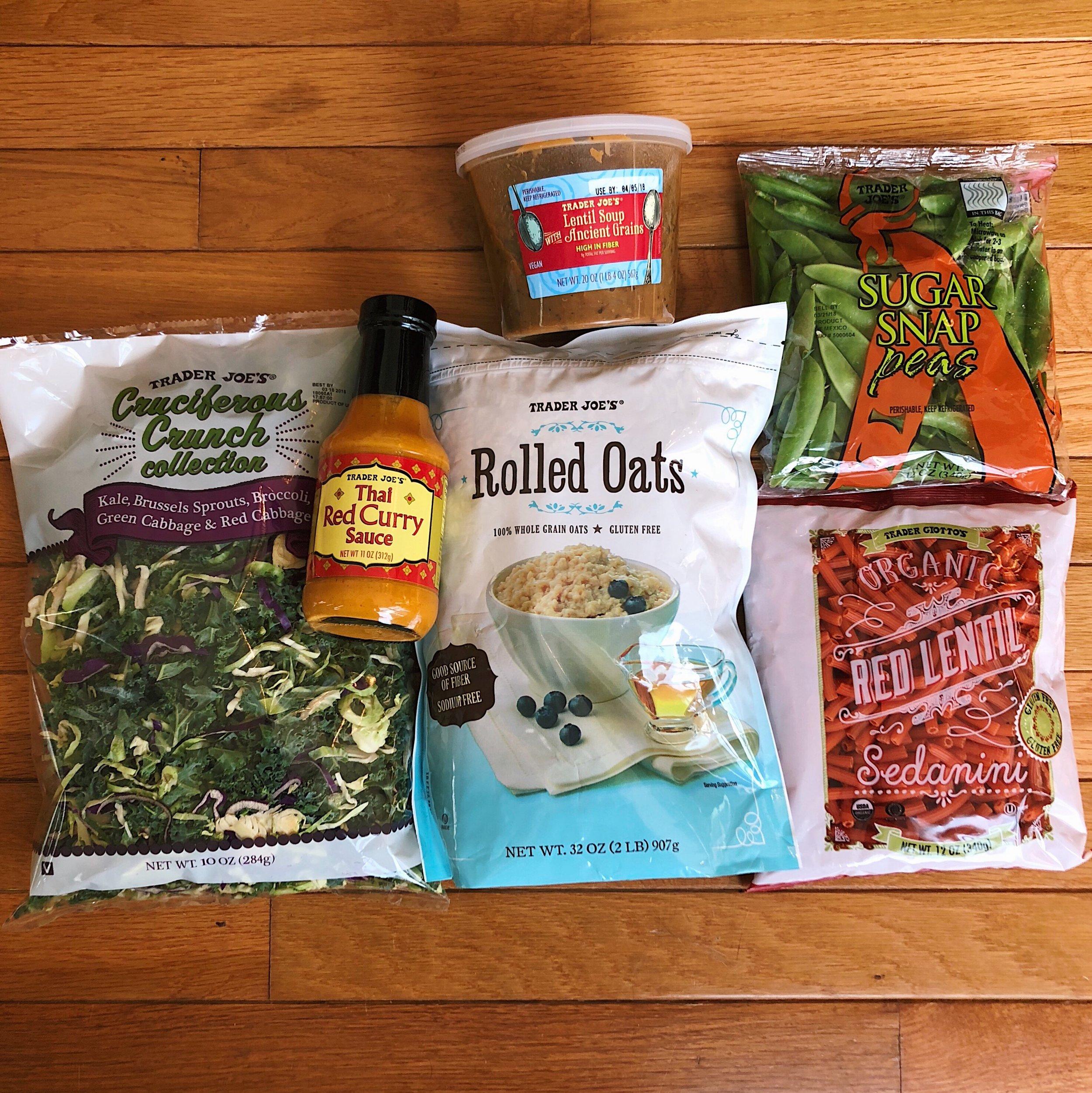 Trader Joes Haul - My Meal Prep Favorites