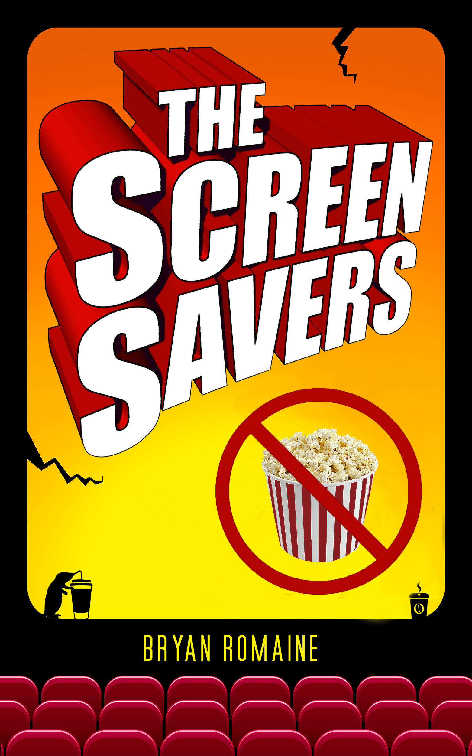 Novel: The Screen Savers.  Featuring comedy, mystery and offbeat romance