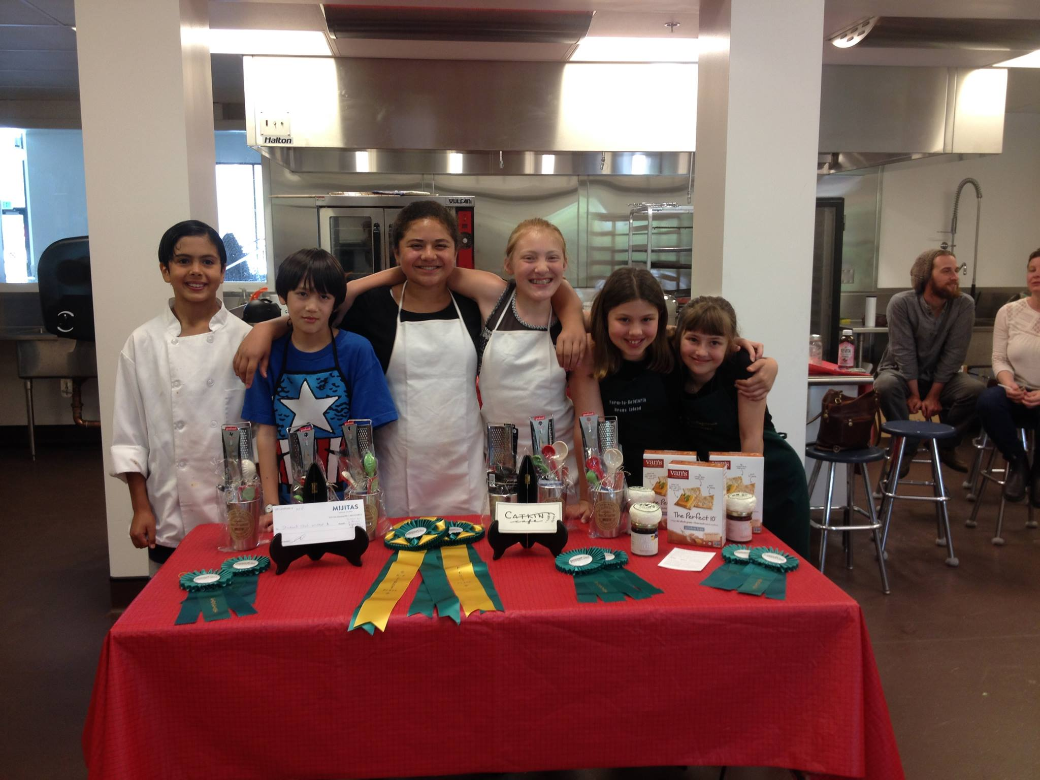 2016 Student Chef Competition Contestants