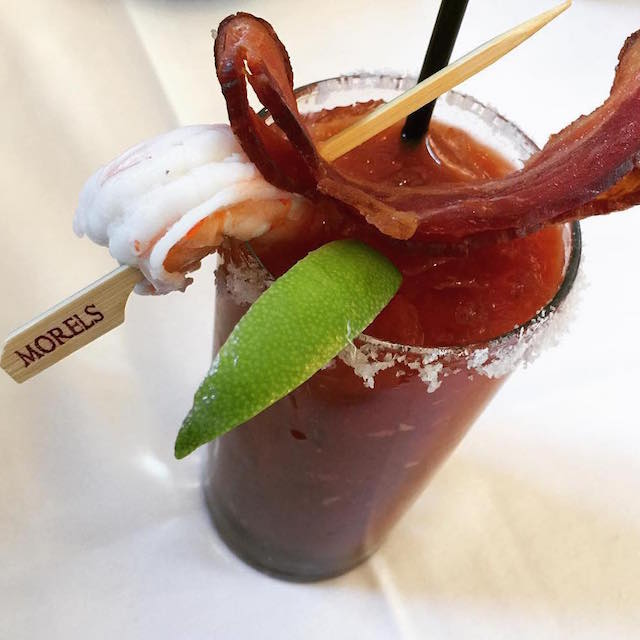 A Blood Mary with Bacon