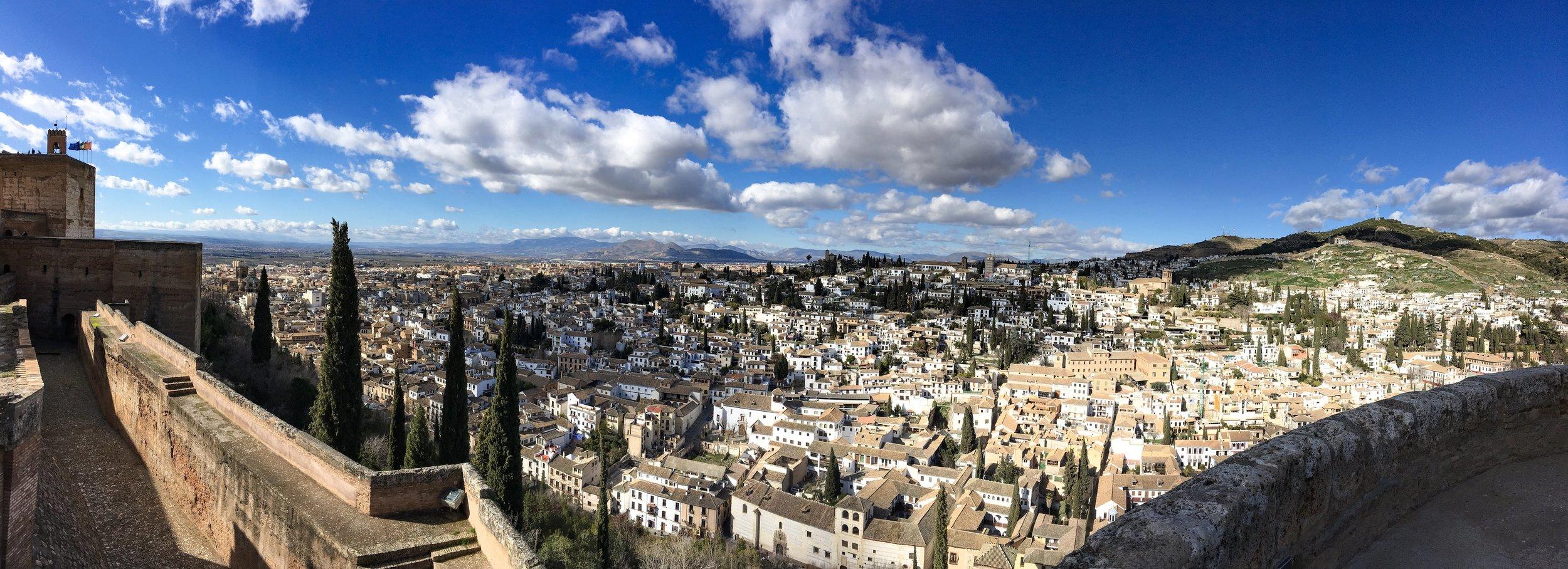 Granada seen from Alhambra
