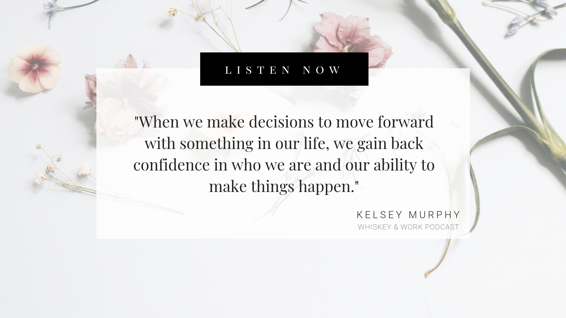 work plateau with Kelsey Murphy