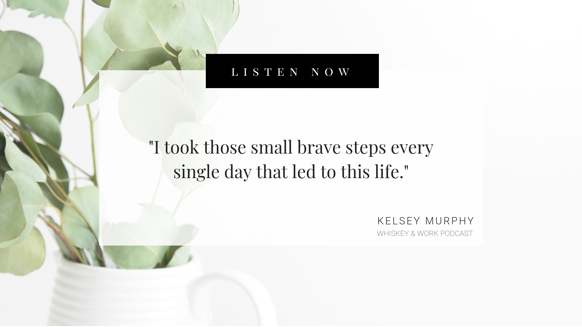 How I Built This Whiskey and Work Podcast with Kelsey Murphy