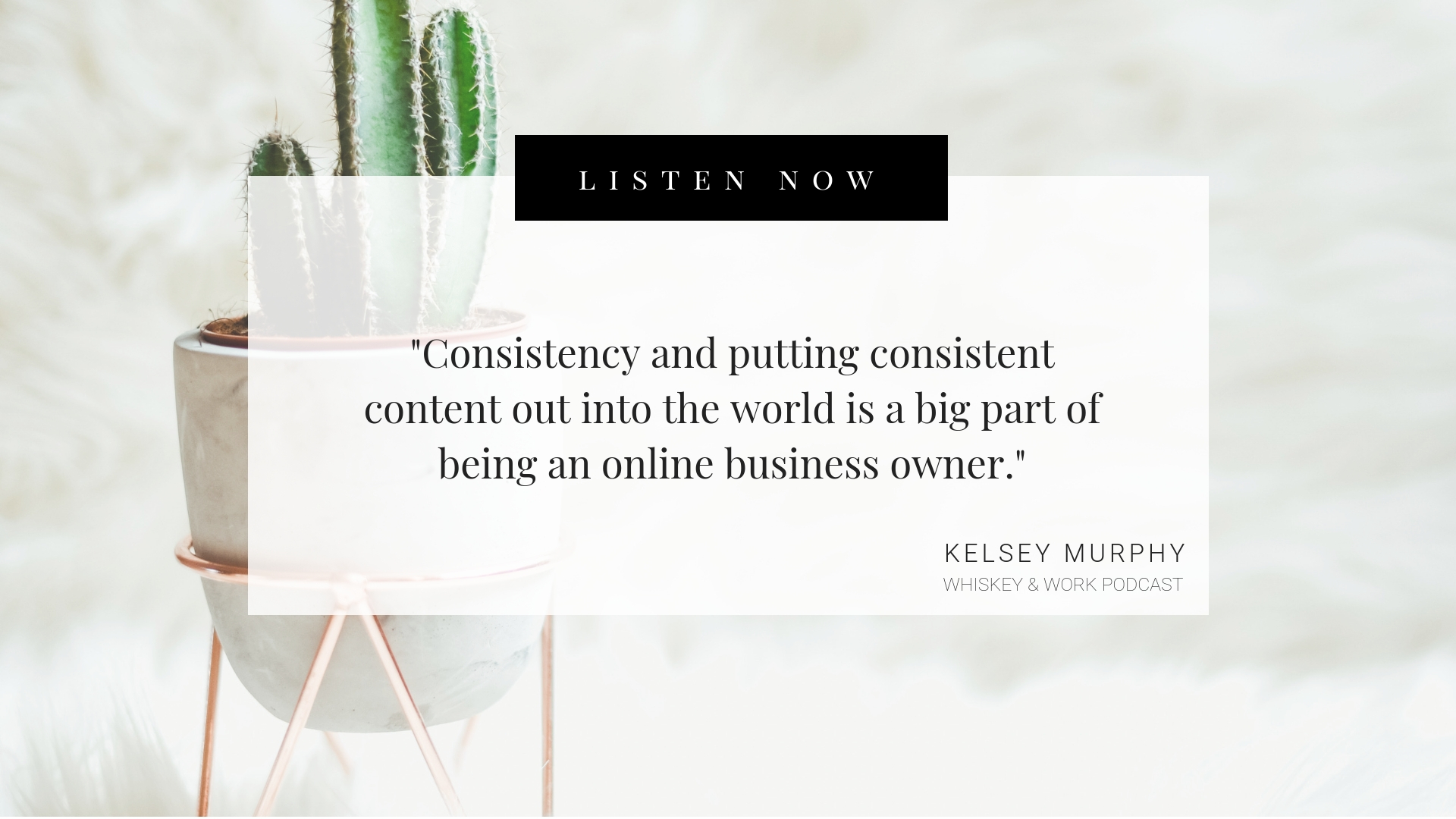 Do You Have The Personality to Start A Business? Whiskey and Work Podcast with Kelsey Murphy