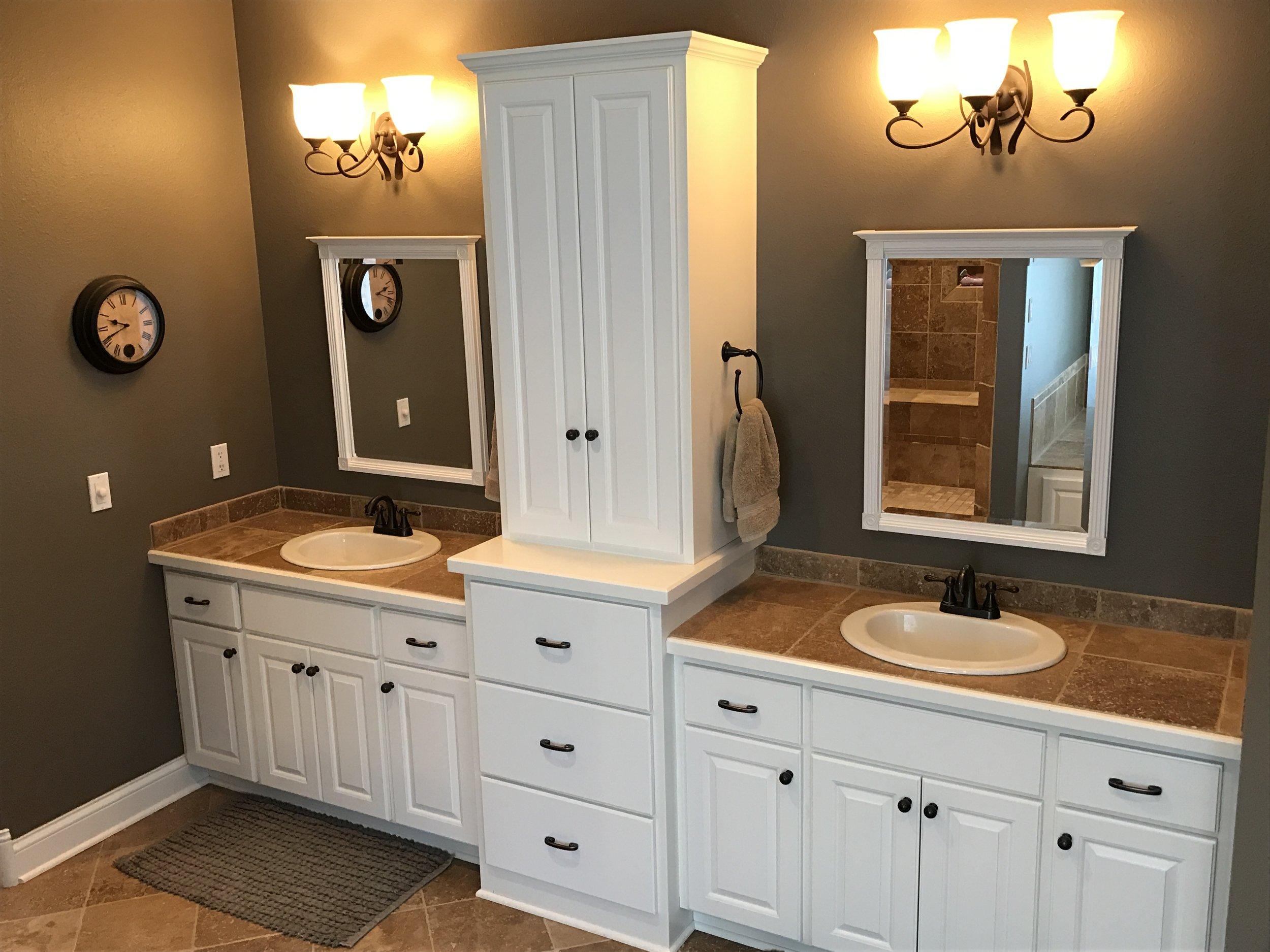 Executive Rambler — vo Homes on log home bathroom designs, french country bathroom designs, split level bathroom designs, farm house bathroom designs, transitional bathroom designs,