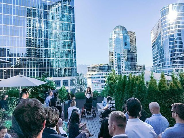 It's patio season! Every year our summer event makes a case as our best event ever, and this year's already looking like a contender. ⁣ ⁣ Join us at the Vancouver Club on July 9th for a night on their incredible rooftop. ⁣ ⁣ As always, we'll have three amazing charities pitch, with the first drink on Labatt, raffle prizes and a silent auction. ⁣ ⁣ Click the link in our bio to sign up. See you then.