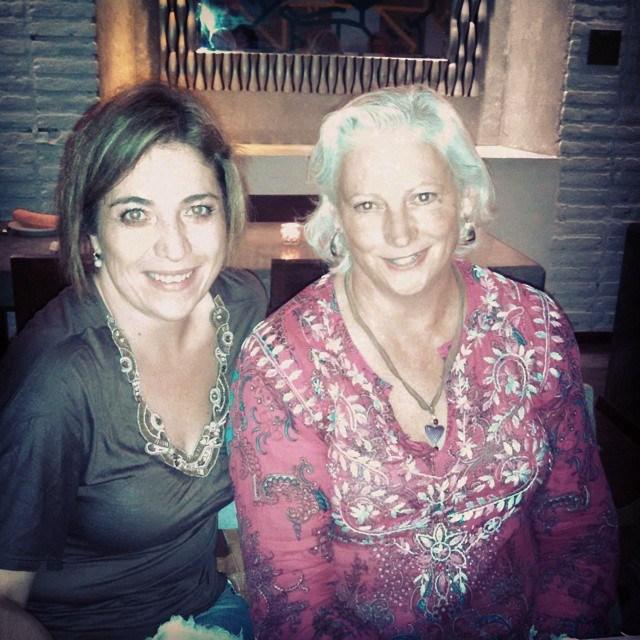 Ane Elena and Kathie