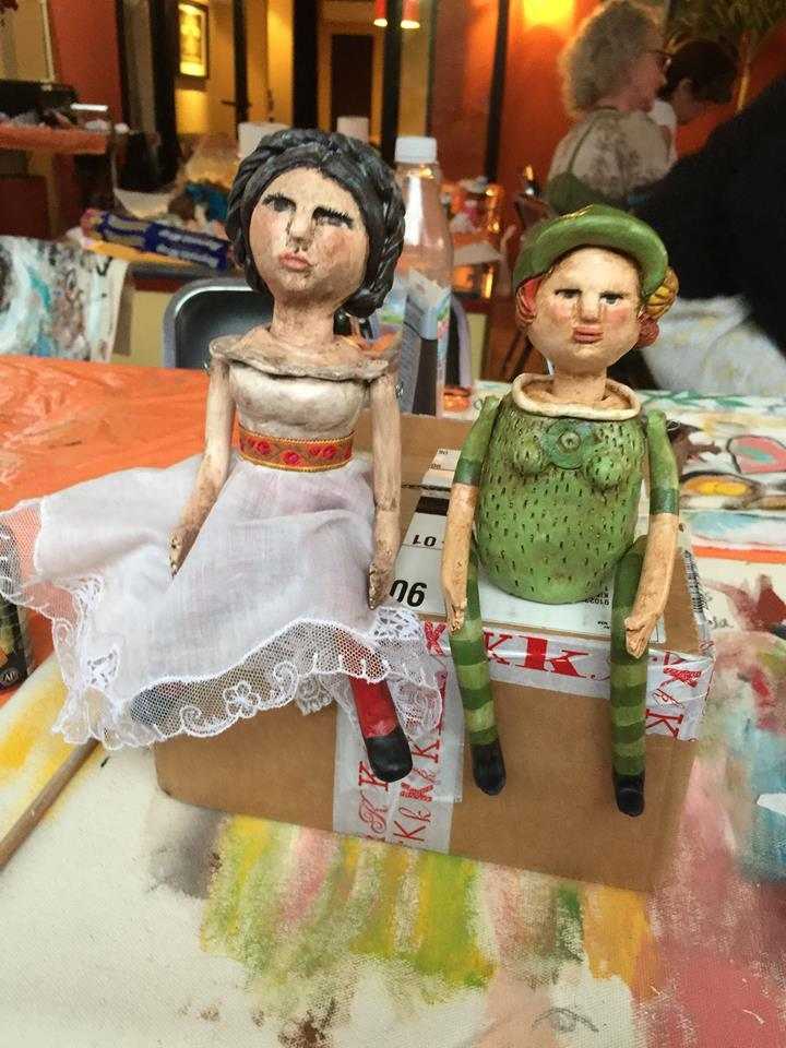 Laura and Judy's Sculpey Dolls