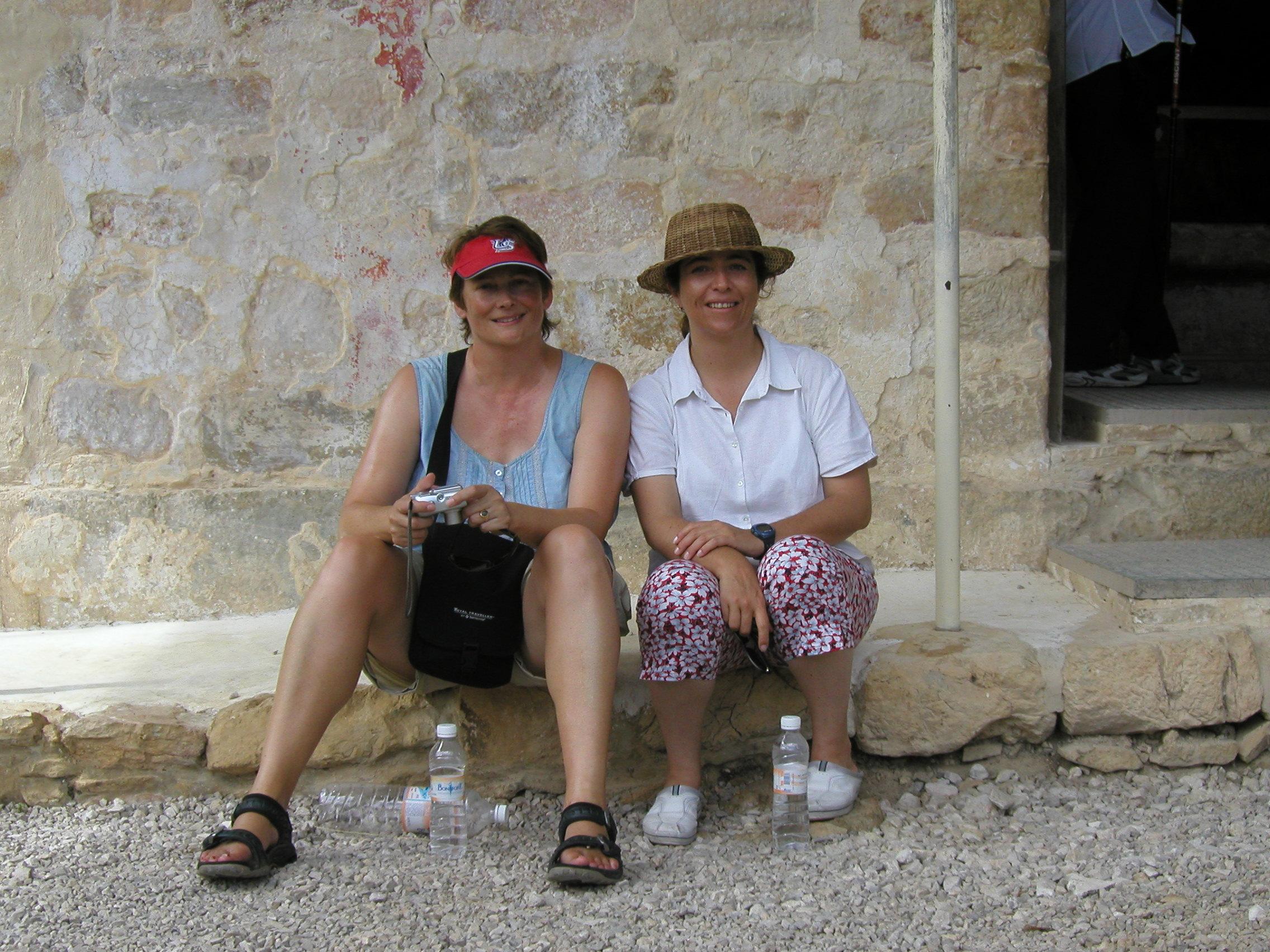 Me and Ana Elena at Bonampak
