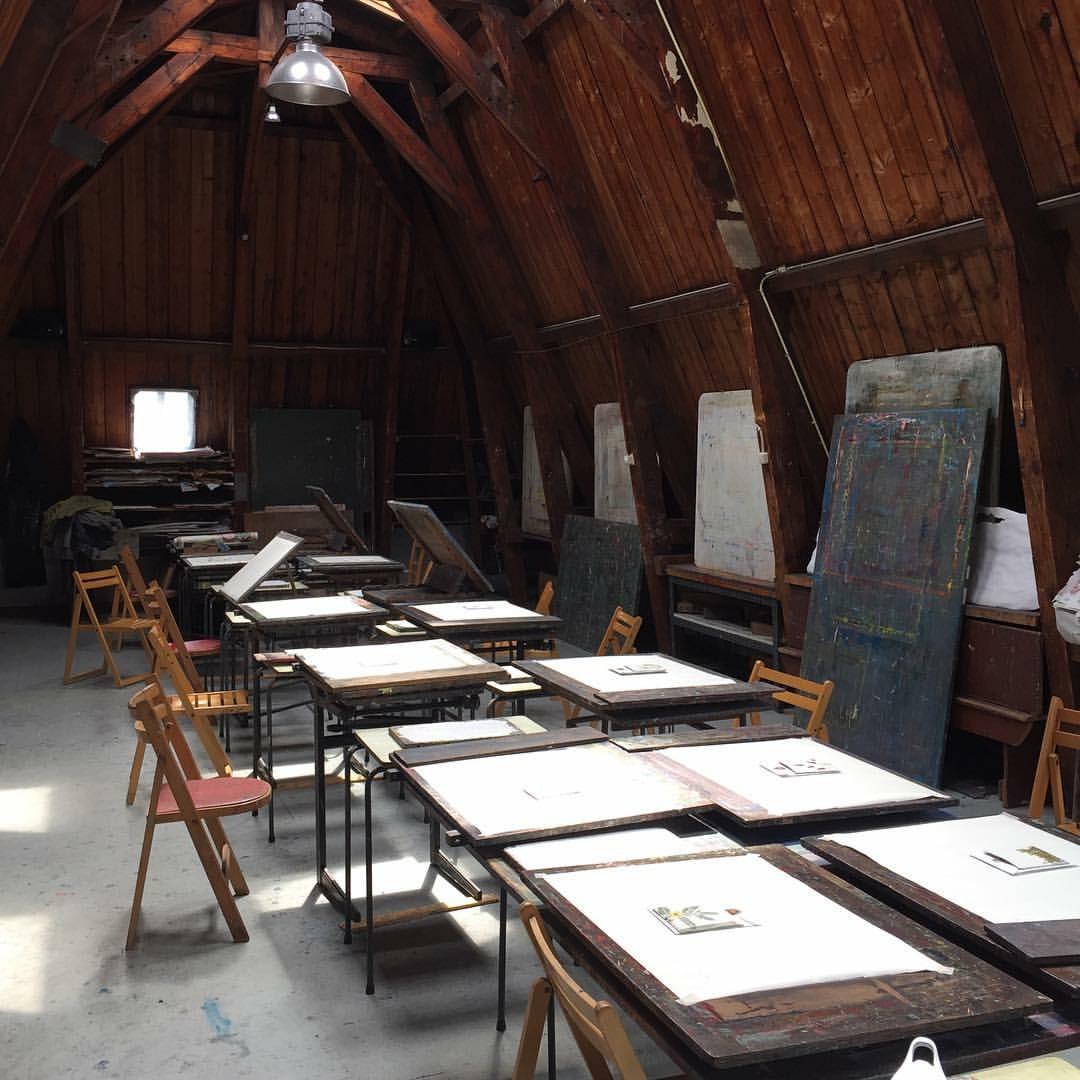 Daniella's studio