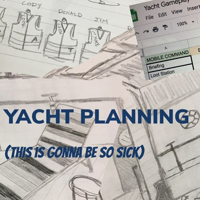 #yachtheist #comingsoon #goat #escaperoom #wsnc #thissummer