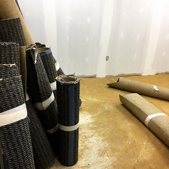 Goodbye carpet, hellooo yacht! #escaperoom #wsnc #comingsoon