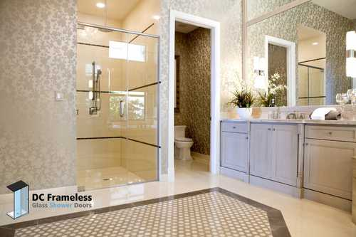framed-glass-shower-doors