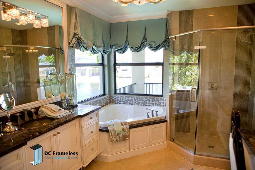 pivot-glass-shower-door-dc