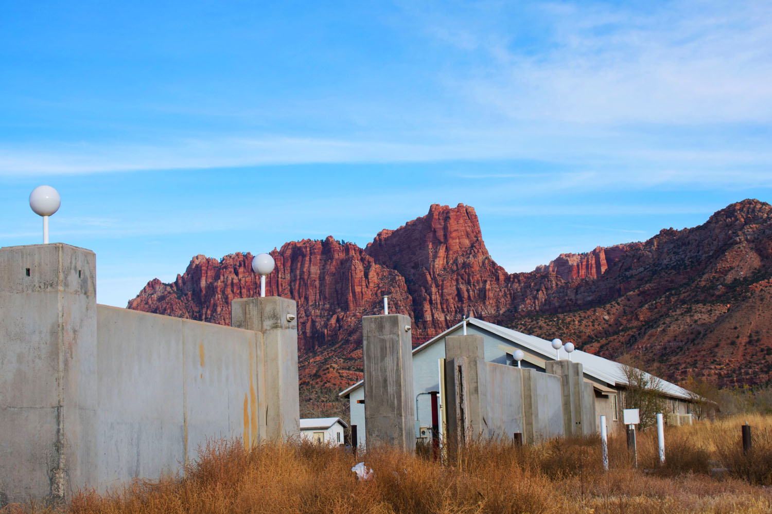 The former site of the FLDS bishop's storehouse. Photo by Barak Wright.