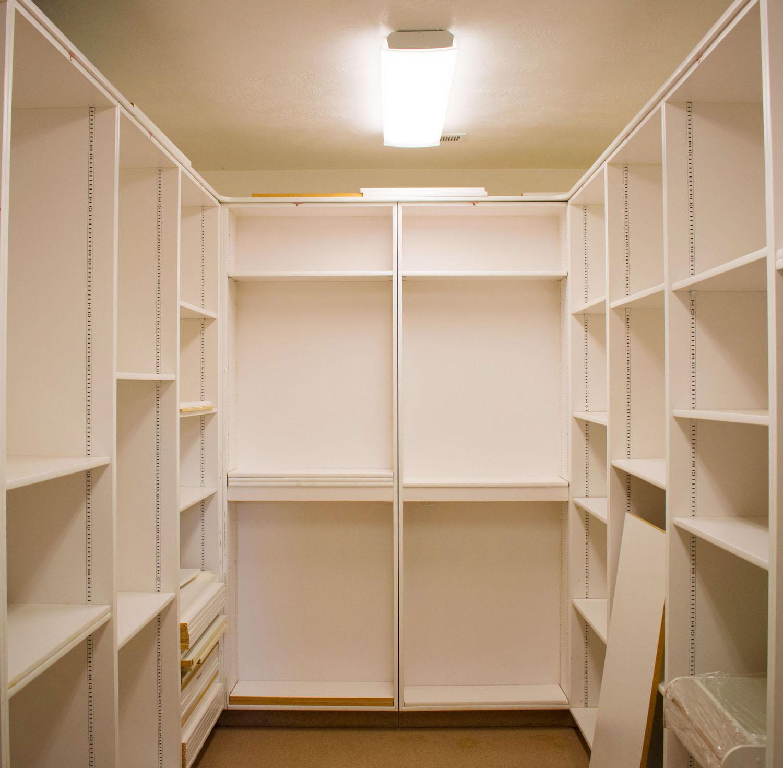 A secret room in the home formerly belonging to Warren Jeffs...