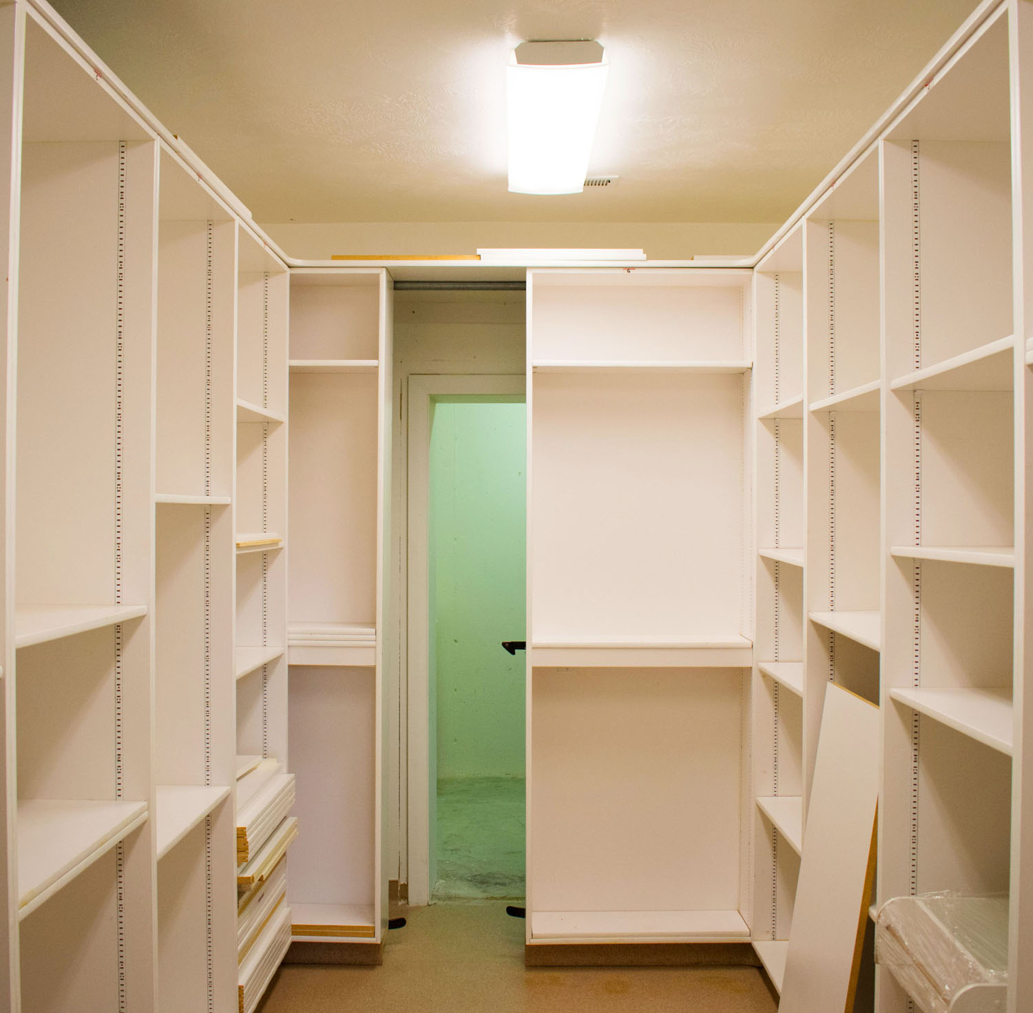 ...rumored to be a storage room for church documents and plural marriage records.