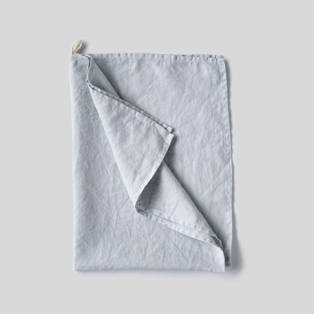 pale blue Linen Tea Towels -