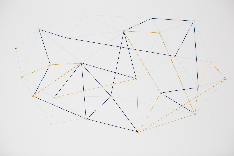 constellation string wall art
