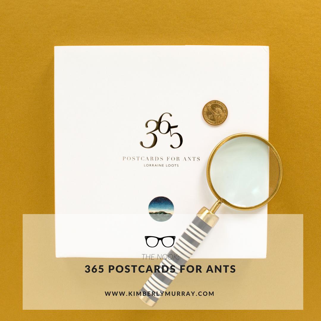 Pinterest image for 365 Postcards for Ants