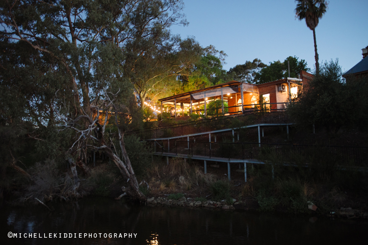 Woodbridge House - On the banks of the Swan River in Guildford, the river narrows to just a few metres connecting the neighbouring vineyards to the historic  Woodbridge House. Clients have told me they have LOVED the food this talented crew whip up and it makes a perfect venue for cocktail style receptions. If it does happen to be threatening rain then there's plenty of room for a marquee to go up without squashing the atmosphere.