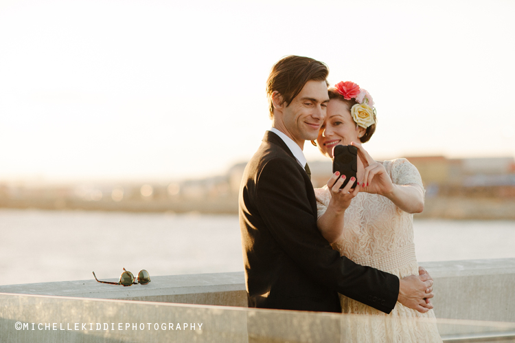 - Click on the names of the following couples to view weddings shot by Michelle Kiddie Photography at the Maritime Museuem: Maddie and Adam; Sam and Ben;  Ruby and Jono; Laura and Daniel