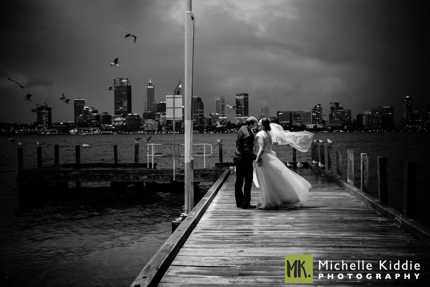 The Boatshed - The Boatshed boasts some of the best views of the river and city, with golden hues at sunset giving way to the twinkling lights of the city reflecting on the water as darkness descends. Ceremonies can be held adjacent to the Boatshed on the grass lawn for ease and convenience. Click here to view some Boatshed Weddings: Hannah and Kieran;  Kate and Matt; Shannon and Kenrick;