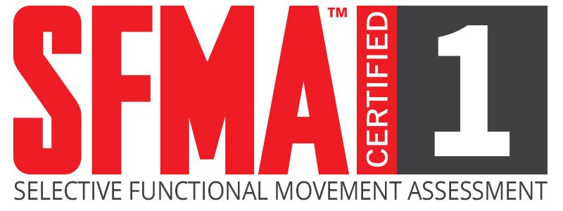 SFMA - The SFMA is the movement based diagnostic system, designed to clinically assess 7 fundamental movement patterns in those with known musculoskeletal pain. The assessment provides an efficient method to systematically find the cause of symptoms, not just the source, by logically breaking down dysfunctional patterns and diagnosing their root cause as either a mobility problem or a stability/motor control problem.