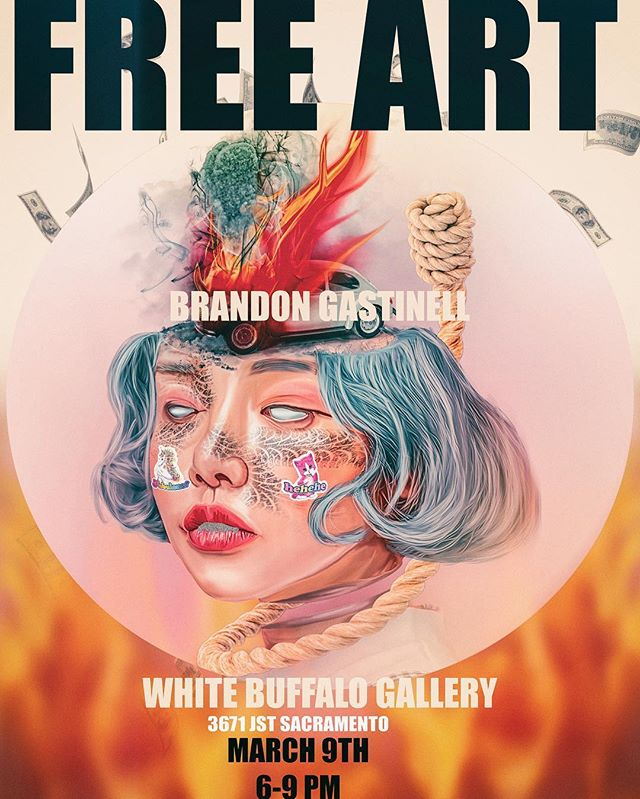 C U TOMORROW @whitebuffalogallery