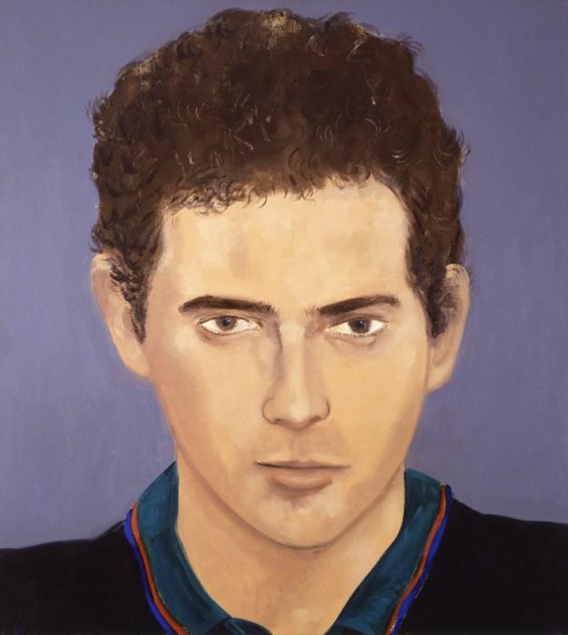 "Izhar Patkin  oil on canvas, 50x56"", 1982"