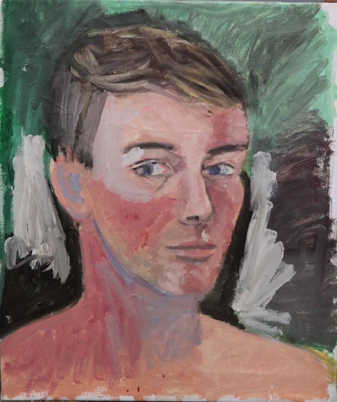 Copy of Larry S Self Portrait