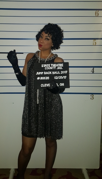 My mug shot for prohibition violations and having a swanky time