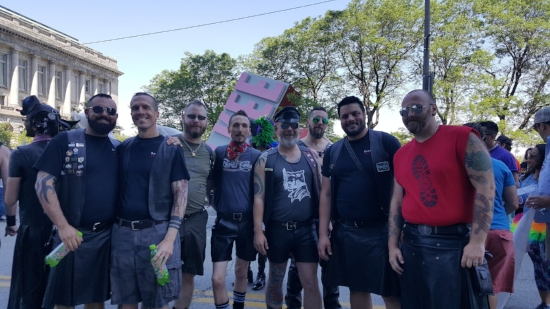 A great group of guys, I met at the march