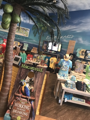 Eat, drink and shop at the gift shop