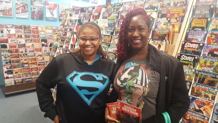 Carol&Johns Comic Shop blackgirlincle