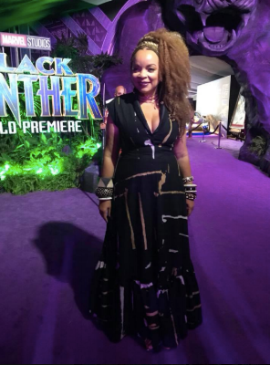 Costume Designer Ruth E. Carter- Photo courtesy of  Facebook
