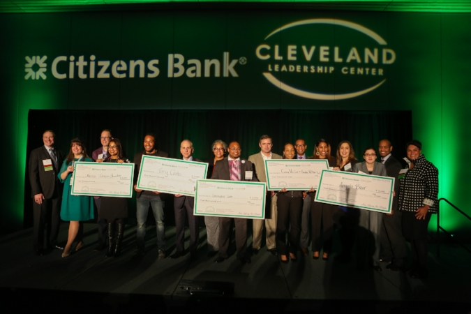 Finalist of the Accelerate 2018 competiton. Photo courtesy of Cleveland Leadership Center