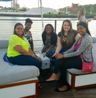A chance meeting with Shana and Chauna. Months later the start of Black Girl in the CLE.
