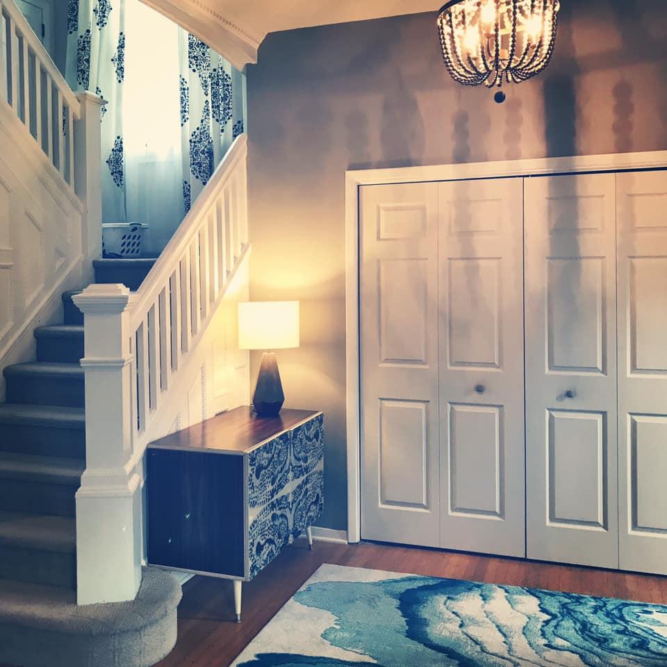 foyer in progress