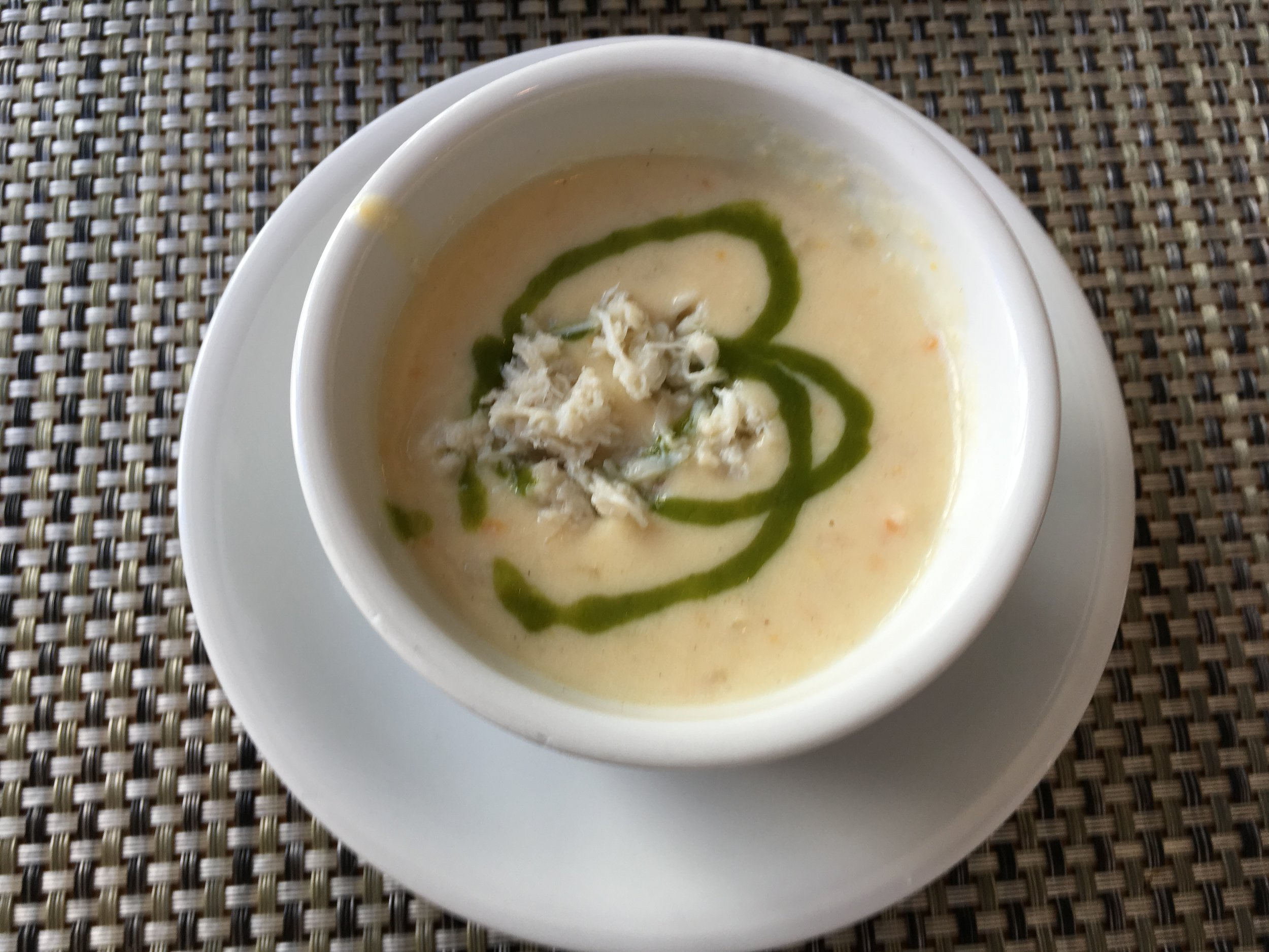 She crab soup. Not to be confused with He crab soup. :)