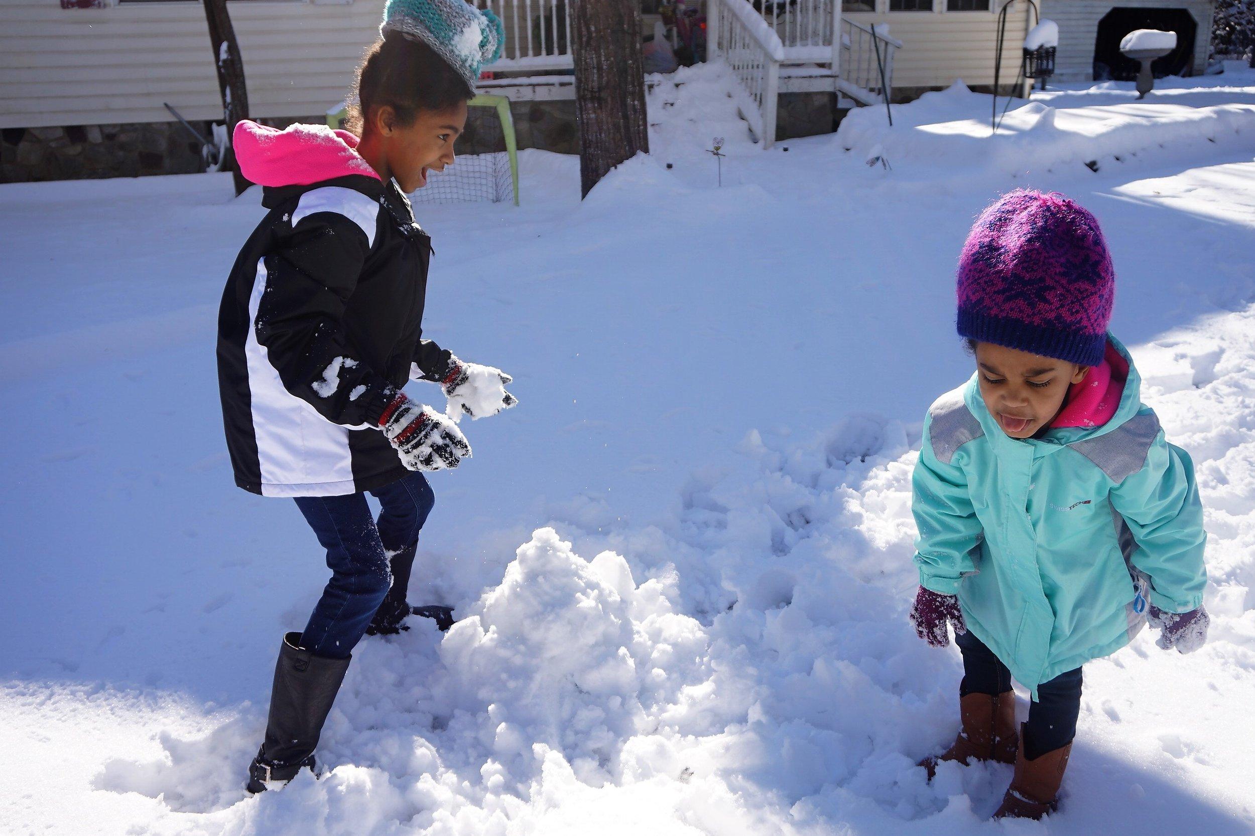 Snowball fight 3