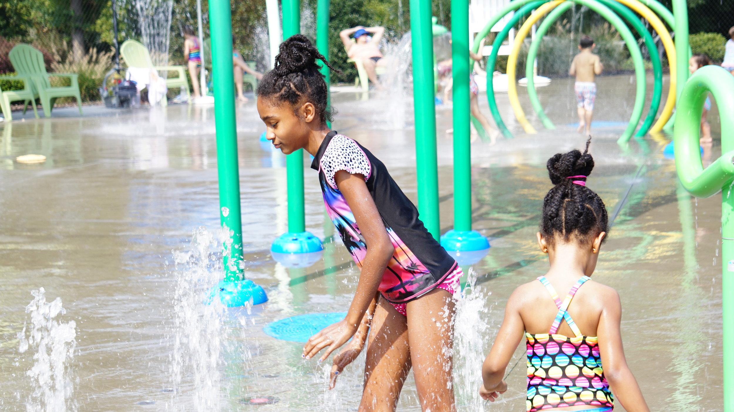 Burlington NC splash park