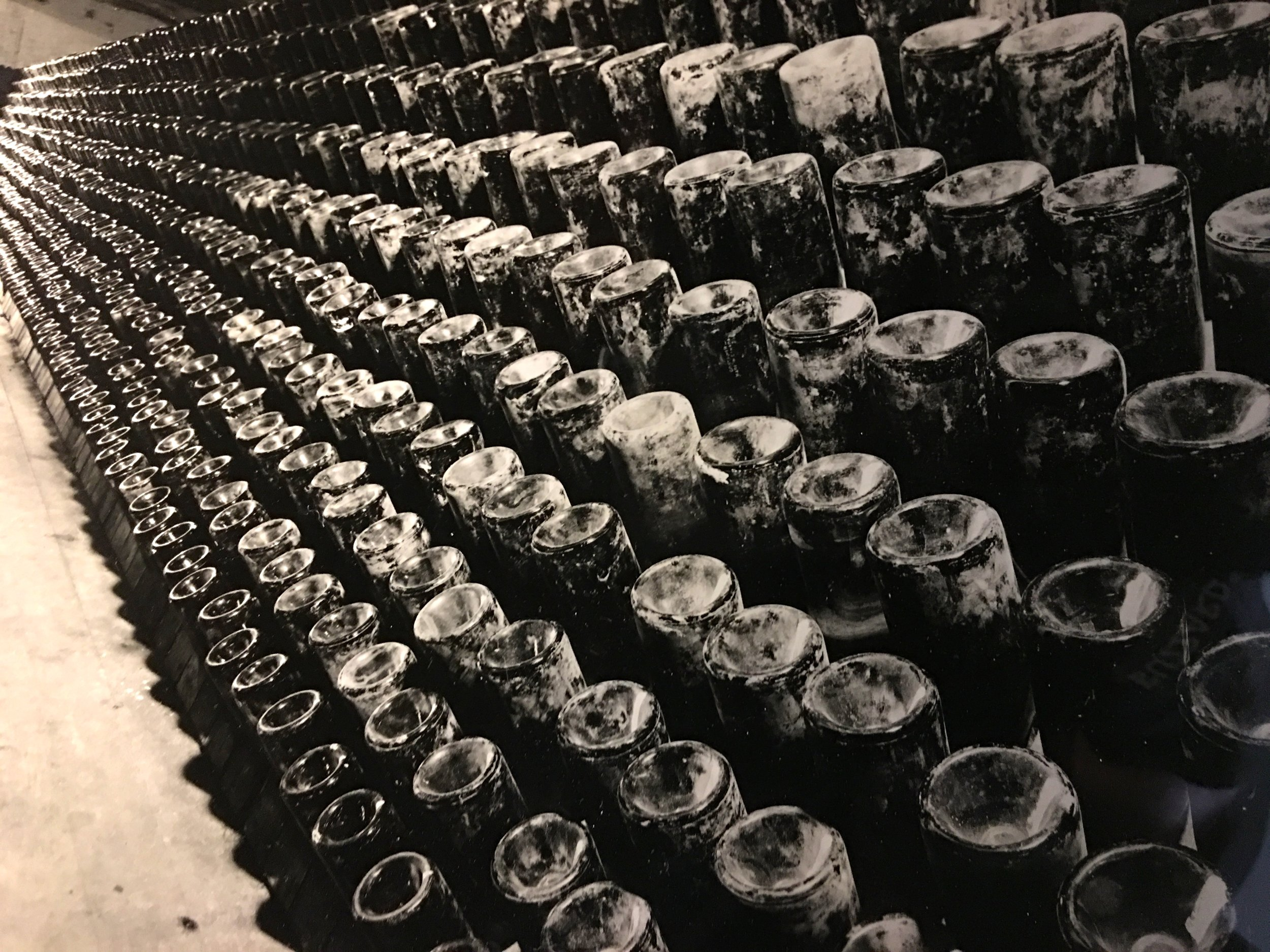 Old riddling racks in Napa ( Photo: The 29 Napa archive )