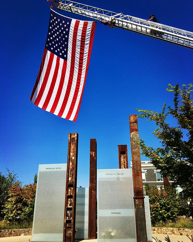 NEVER FORGET - As we mark 18 years since this tragic day, may we all pause to reflect on those who we lost and what we hold dear moving forward. 🙏 • We're especially thankful to Jim Asbury who led the effort to build this incredible 9/11 memorial in Napa and all those who lent their skilled trades in creating it. The metal pillars are actual WTC beams salvaged from the site. • #the29napa #handpickednapa #napavalley #winecountrylife #winecountry #winecountryliving #winelover #napa #vino #winemaker #winecountrystyle #winelife #napalife #napa #neverforget