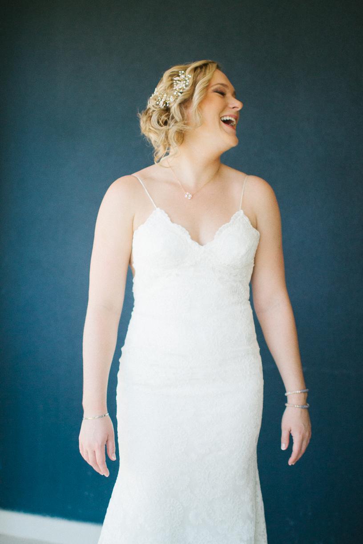 Punta Cana destination wedding, stunning bride enjoys moments before her wedding ceremony