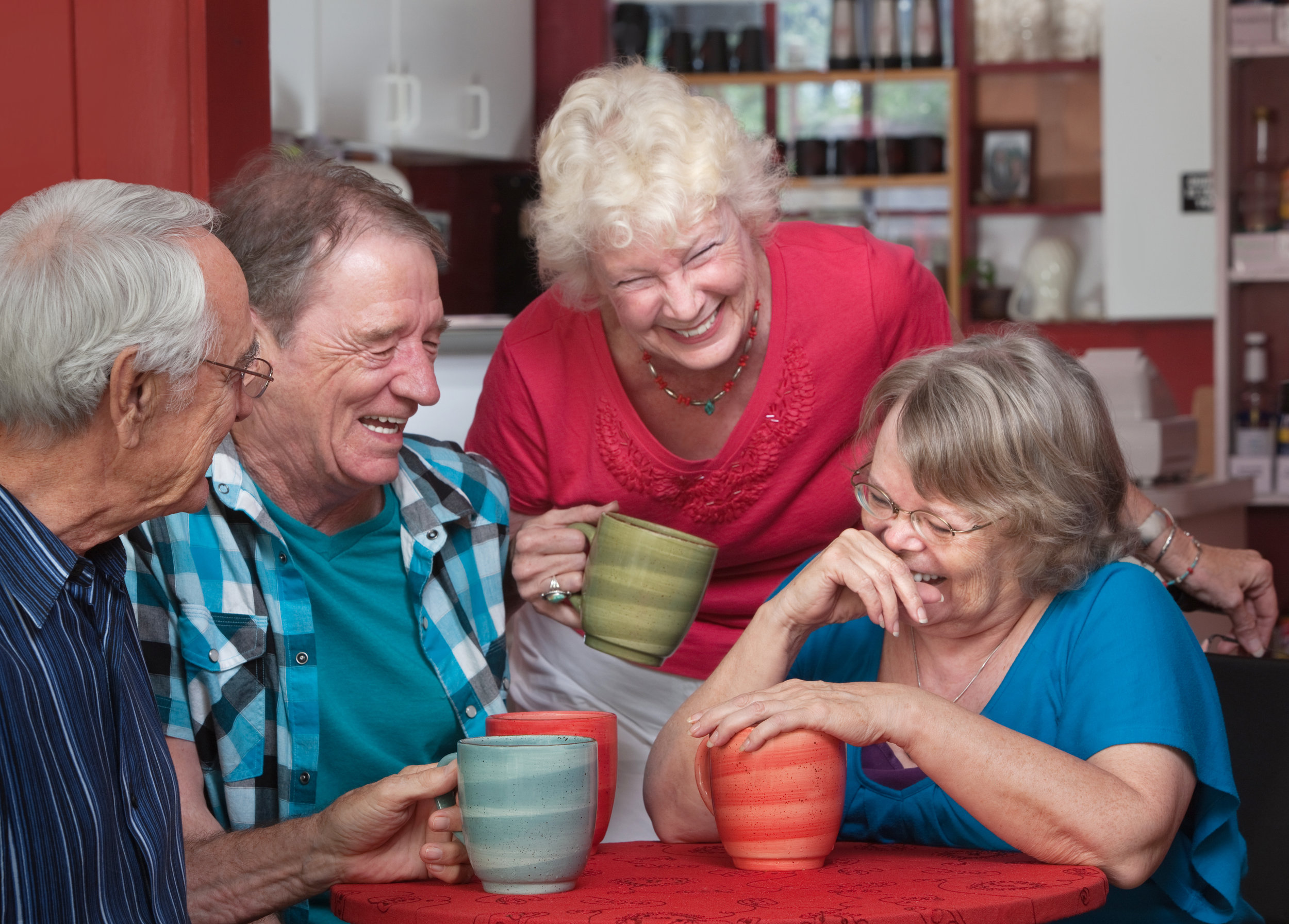 Practicing talking and interacting with others, as long as everyone's patient, can be some of the best communication therapy and is a great way to practice your skills.