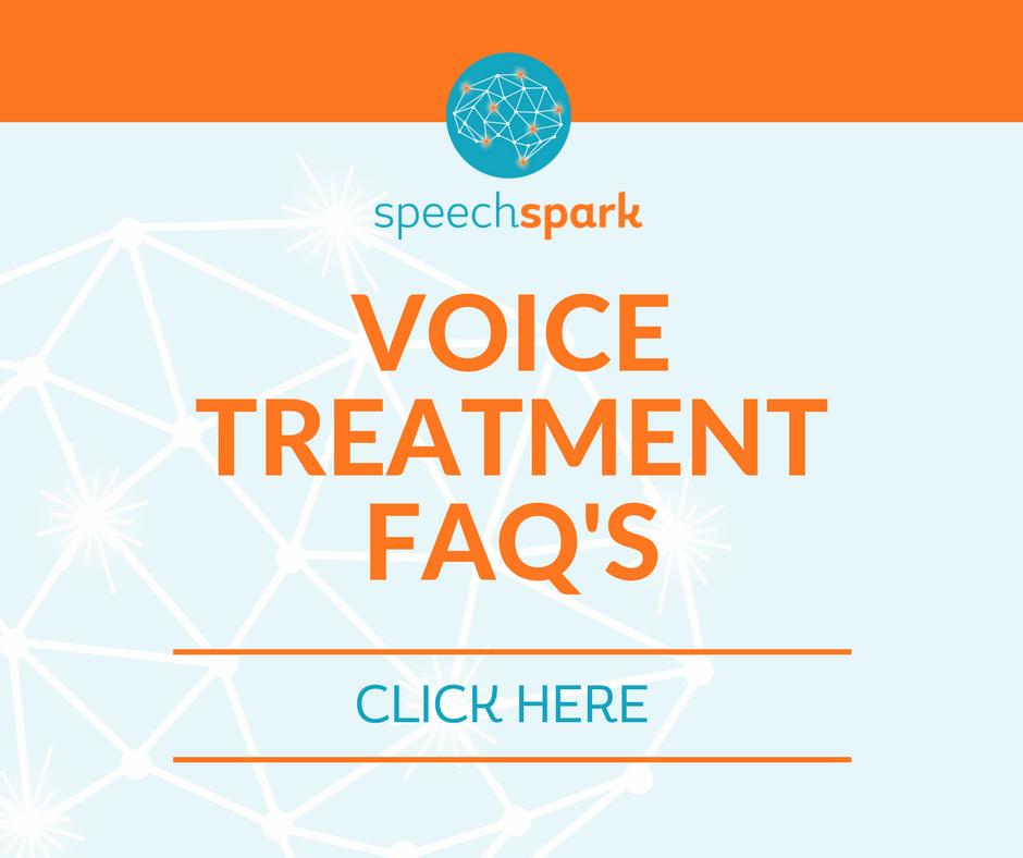 voice treatment FAQ